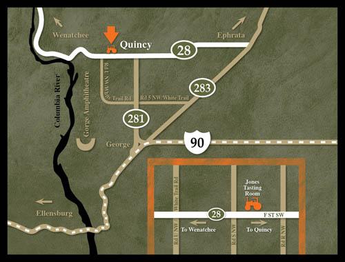 Quincy Tasting Room - Jones of Washington